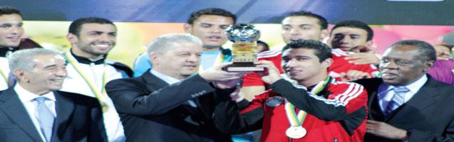 فوز  مصر في النهائي