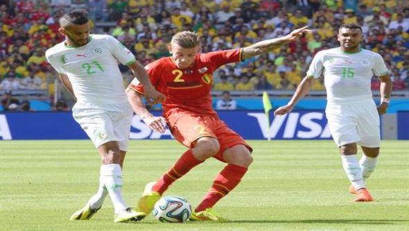 بلجيكا الجزائر