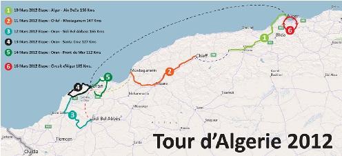 Tour d'Algérie 2012 : Une première