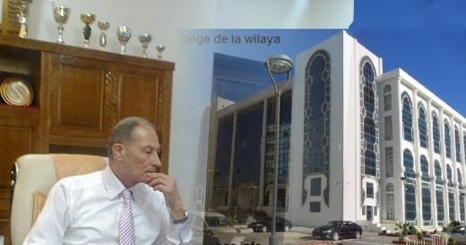 Le wali de Sidi Bel-Abbes M.Fehim Yahia
