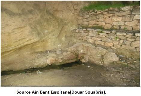 Source Ain Bent Essoltane (Douar Souabria).
