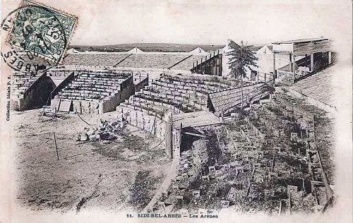Sidi bel abbes : Les arènes