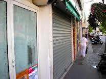 images commerces fermés
