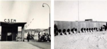 Les Blockhaus des caméras d'enregistrements des tirs,  Hamoudia 1960