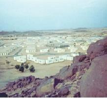 1964: la base militaire d'In Amguel au sud d'In Eker