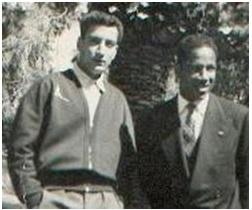 Dey Mokhtar et Larbi BEN BAREK sur la Place de la Tahtaha