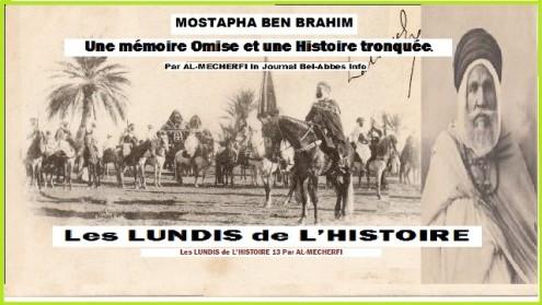 LUNDI 13 Mostapha benbrahim