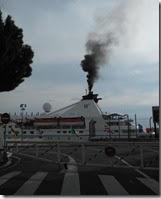 Enfumage dans le port de Nice