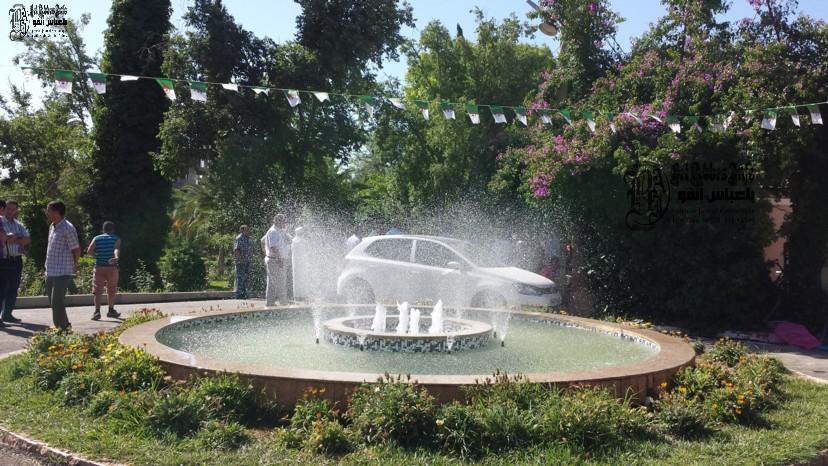 Sidi bel abb s inauguration du jardin public vid o for Jardin public