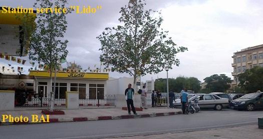 station service Naftal Lido